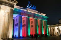 Porte de Brandebourg, Berlin, Allemagne Photographie stock libre de droits