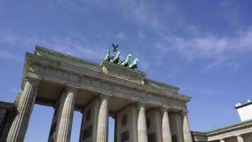 Porte de Brandebourg Berlin Allemagne banque de vidéos