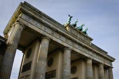 Porte de Brandebourg de Berlin Image stock
