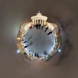 Porte de Brandebourg de planète Photo libre de droits