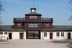 Porte de camp de Buchenwald Photos libres de droits