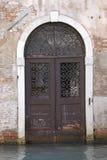 Porte de canal, Venise Photographie stock libre de droits