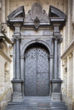 Porte de cathédrale de Wawel Image libre de droits