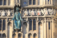 Porte de cathédrale de Cantorbéry Image stock