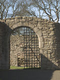 Porte de château Image stock
