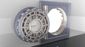 Porte de chambre forte 3d Image stock