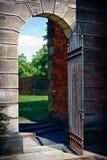 Porte de citadelle Photographie stock