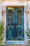 Porte de crypte Images stock