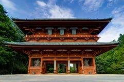 Porte de démon, l'entrée principale antique à Koyasan Mt Koya dedans Photographie stock