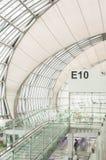 Porte de départ d'aéroport Photographie stock libre de droits