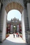 Porte de Dolmabahce Photos stock