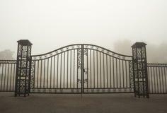 Porte de fer photo libre de droits