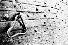 Porte de fer Photographie stock libre de droits