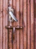 Porte de fer Photos stock