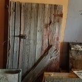 Porte de ferme de vintage photographie stock