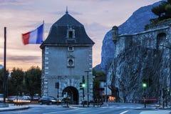 Porte de France i Grenoble Royaltyfria Bilder