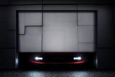 Porte de garage Photos stock