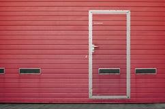 Porte de garage comme fond Images libres de droits