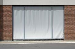 Porte de garage sous le contruction Images stock