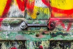 Porte de graffiti Photographie stock libre de droits