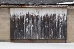 Porte de grange photographie stock