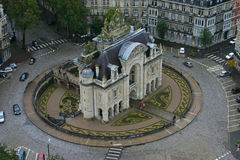Porte DE Horizontaal Parijs - Lille - Stock Afbeelding