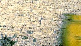 Porte de Jérusalem Jeffa banque de vidéos