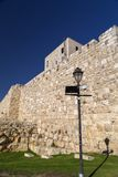 Porte de Jaffa, Jerusale, Israël photos libres de droits
