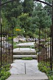 Porte de jardin Image libre de droits