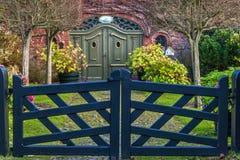 Porte de jardin Photo stock