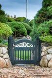 Porte de jardin Images libres de droits