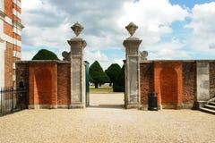Porte de jardin de Hampton Photographie stock libre de droits