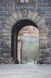 Porte de krumlov de Cesky Photo libre de droits