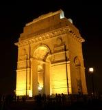Porte de l'Inde, la Nouvelle Delhi Photographie stock libre de droits