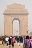 Porte de l'Inde, la Nouvelle Delhi Photographie stock