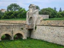Porte de la citadelle de Pamplona Image stock