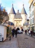 Porte de la Craffe,南希,法国 免版税库存图片