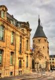 Porte de la Craffe, a medieval gate in Nancy - France Stock Images
