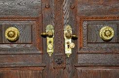 Porte de la grande église Photo libre de droits