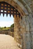 Porte de Leeds Castle dans Kent Images libres de droits