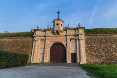 Porte de Leopold au coucher du soleil Photos libres de droits