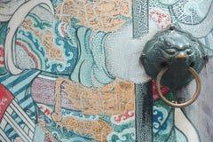Porte de lion Photographie stock
