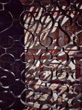 Porte de métal forgé Photo stock