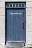 Porte de magasin d'artillerie Image libre de droits