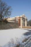 Porte de Menin en hiver Photos libres de droits
