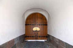 Porte de monastère, Russie Images libres de droits