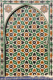 Porte de mosaïque Image stock