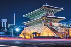 Porte de Namdaemun Photographie stock