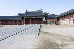 Porte de palais de Changdeok image libre de droits