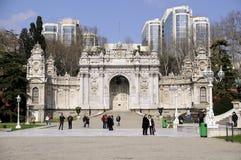 Porte de palais de Dolmabahce Image libre de droits